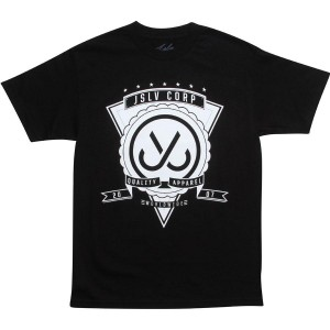 JSLV Men Quality Apparel Tee (black / white)
