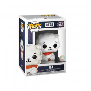 PREORDER - Funko POP Animations BT21 RJ (white)