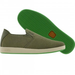 Clae Garvey Slip-on (olive / celery)