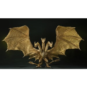 PREORDER - Bandai S.H.MonsterArts Godzilla King Of the Monsters 2019 King Ghidorah Special Color Ver. Figure (gold)
