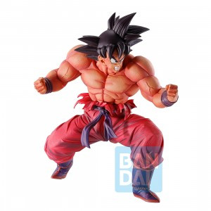 PREORDER - Bandai Ichibansho Dragon Ball World Tournament Super Battle Son Goku Kaioken X3 Figure (red)