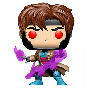 PREORDER - Funko POP Marvel X-Men Classic - Gambit With Cards (purple)