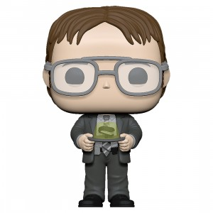 PREORDER - Funko POP TV The Office - Dwight With Gelatin Stapler (gray)