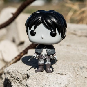BAIT x Funko Exclusive Pop Animation Attack on Titan Figure - Eren Jaeger Monochrome Edition (black / white)