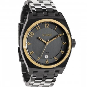 Nixon Monopoly Watch (gun n gold)
