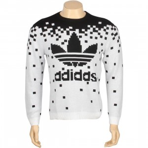 Adidas Pixel Knit Sweater - Jeremy Scott (black / white)