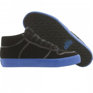 ALIFE Everybody Mid Black Suede (blue)
