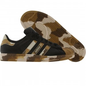 Adidas Big Kids Superstar 2 K (black / d sand / bone)