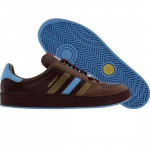 Adidas Adicolor Low (mahogany / tech blue / medium khaki)