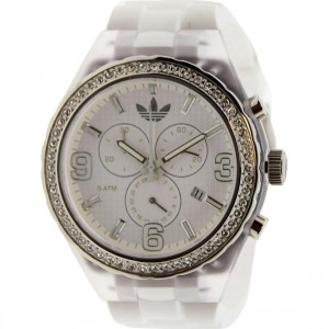Adidas Cambridge Watch (white / clear)