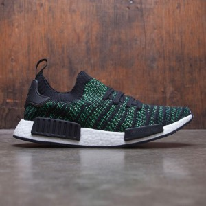 Adidas Men NMD R1 STLT PK (black / noble green / bold green)