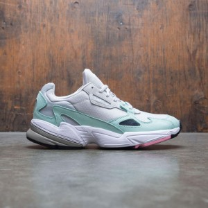 Adidas Women Falcon W (gray / grey one / easy green)