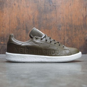 Adidas x Neighborhood Men Stan Smith BOOST NBHD (olive / trace olive / footwear white)