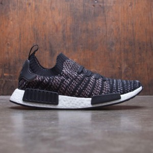 Adidas Men NMD R1 STLT PK (black / grey two / grey five)