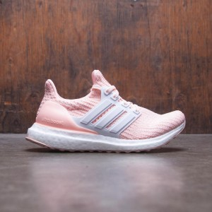 Adidas Big Kids UltraBOOST J (orange / clear orange / cloud white / footwear white)