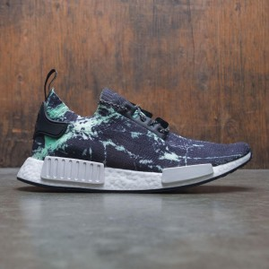 Adidas Men NMD R1 PK - Marble (black / footwear white / aero green)
