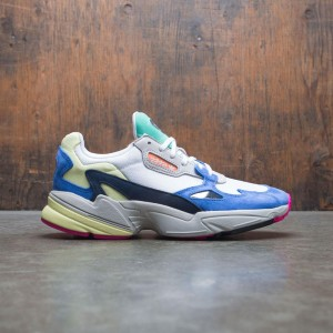 Adidas Women Falcon W (white / footwear white / blue)