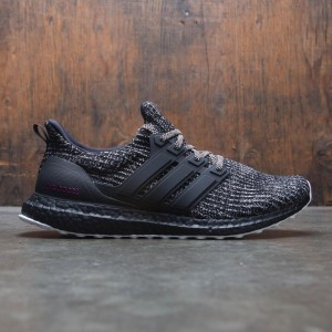Adidas Men UltraBOOST - Breast Cancer Awareness (black / cloud white / shock pink)
