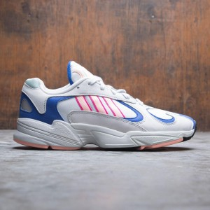 Adidas Men Yung-1 (white / crystal white / clear orange / collegiate royal)