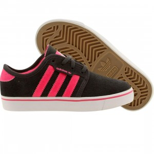 Adidas Skate Little Kids Seeley J (gray / dgsogr / sopink / ftwwht)