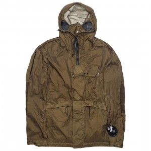Adidas x C.P. Company Men Explorer Jacket (brown / dark cargo)