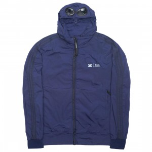 Adidas x C.P. Company Men Track Top Jacket (blue / night indigo)
