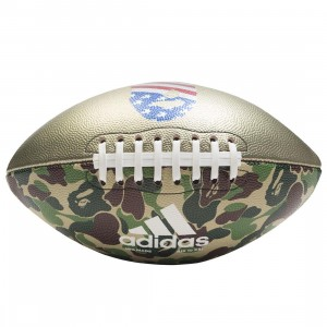 Adidas x Bape Rifle Football (camo / green camo)