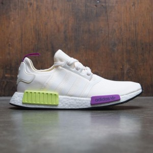 Adidas Men NMD R1 (white / chalk white / semi solar yellow)