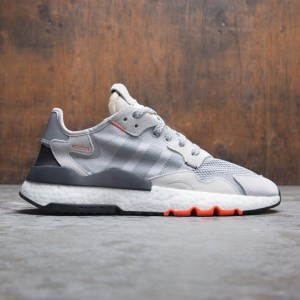 Adidas Men Nite Jogger (gray / mgh solid grey / solar orange)
