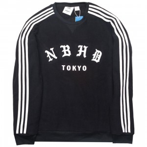 Adidas x Neighborhood Men NH Crew Sweatshirt (black)
