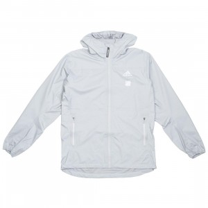 Adidas x Undefeated Men Goretex Jacket (gray / clear onix / black)
