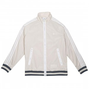 Adidas x Bristol Studio Men Warm Up Track Top Jacket (beige / clear brown / white / bold onix)