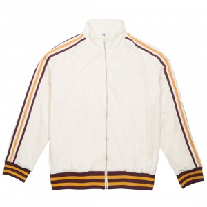 Adidas x Eric Emanuel Men Warm Up Track Top Jacket (beige / cream white / craft gold / maroon)