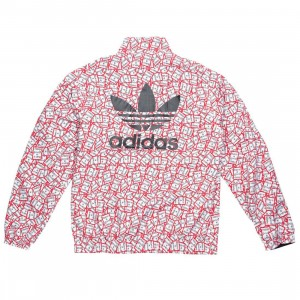 Adidas x Have A Good Time Men HAGT Reversible Track Jacket (black)