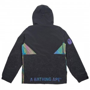 Adidas x BAPE Men Snow Jacket (black)