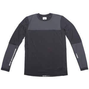 Adidas x White Mountaineering Men WM Agravic Bonded Long Sleeve Tee (black)