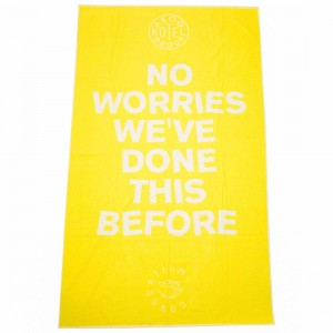 Adidas Consortium x A Kind Of Guise AKOG Towel (yellow)