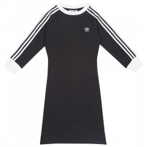 Adidas Women 3-Stripes Dress (black)