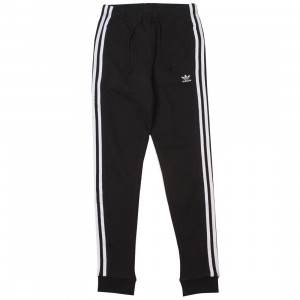 Adidas Women Regular Cuffed Track Pants (black)