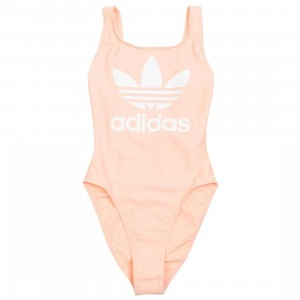 Adidas Women Trefoil Swimsuit (pink / dust pink)