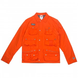 Adidas Men Wardour Military Jacket (orange / collegiate orange)