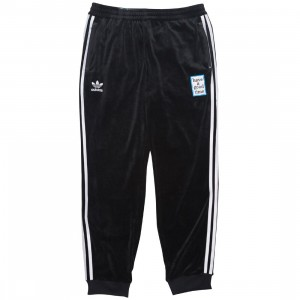 Adidas x Have A Good Time Men Velour Track Pants (black)