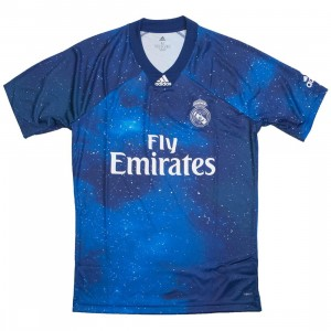 Adidas Men Real Madrid EA SPORTS Jersey (blue / unity ink / white)