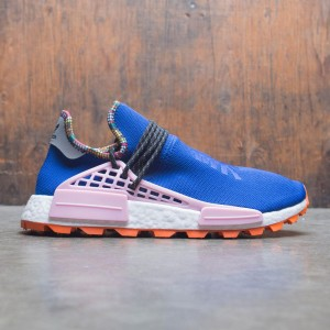 Adidas x Pharrell Williams Men Solar HU NMD (blue / powder blue / light pink / orange)