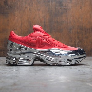 separation shoes 8ae24 58260 Adidas Raf Simons Men Ozweego (red   silver metallic)