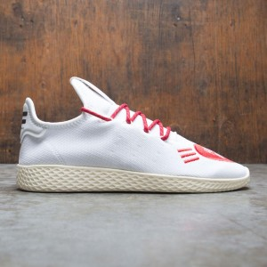 Adidas x Pharrell Williams Men Tennis HU Human Made (white / scarlet / cream white)