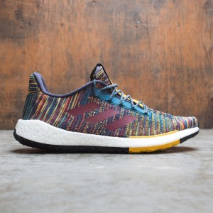 Adidas Consortium x Missoni Men PulseBOOST HD (multi / tech mineral / burgundy / active gold)