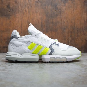 Adidas Consortium x Footpatrol Men ZX Torsion (white / solar yellow / ash grey)