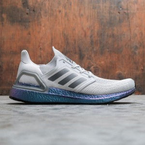 Adidas Men UltraBOOST 20 (gray / grey three / boost blue violet metallic)