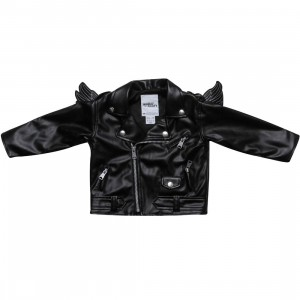 Adidas Toddler ObyO JS Biker Jacket - Jeremy Scott (black / white)